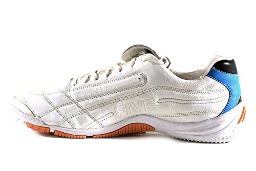 AGLA , Chaussures pour homme spécial foot en salle Blanc Cassé blanc media Blanc