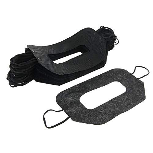 sharprepublic 50x Auge Gesicht Maske Gesicht Abdeckung für Den Virtuellen Reality-Kopfhörer, Größe: ca. 19,5 x 11,5 cm - A