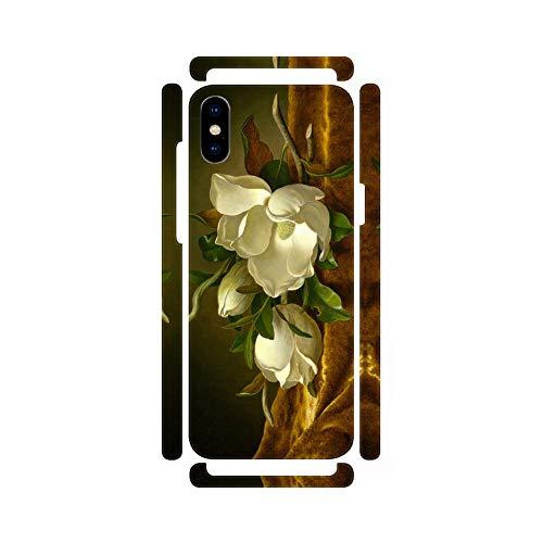 DìMò ART Cover Case Apple iPhone Heade Martin Johnson Magnolias on Gold Velvet Cloth Gold Magnolia