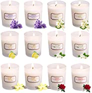 Ahyiyou Scented Candles, 100% Soy Wax Tin Candles, Natural Fragrance Candles for Stress Relief and Aromatherap