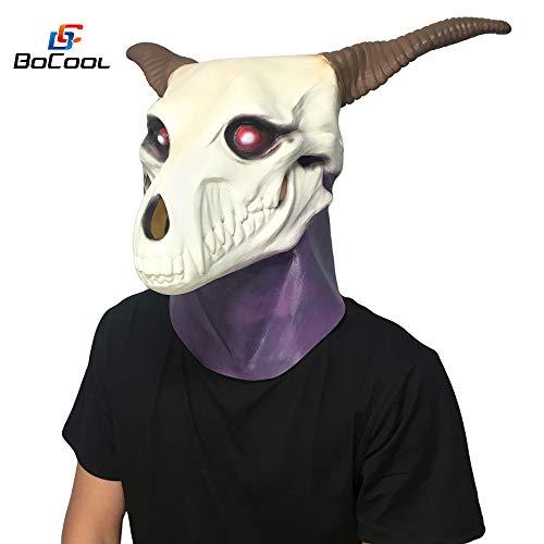 BANYANN Halloween Cosplay DekorBraut Maske Realistische Schädel Latex Maske Cosplay ()