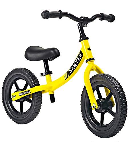 Sawyer - Bicicleta Sin Pedales Ultraligera - Niños 2, 3 y 4...