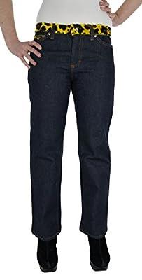 "Dolce & Gabbana ""Crazy Leopard"" Womens Denim Cropped Jeans with Animal Print Finish Straight Leg Size 28/UK 12"