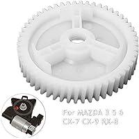 BAAQII Delantero Trasero Elevalunas eléctrico Regulador Motor Engranaje para Mazda 3 5 6 CX-7 CX-9 RX-8 Puerta Izquierda/Derecha