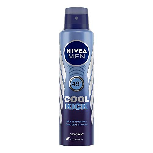 Nivea Cooler Kick-48-Stunden-Deodorant für Männer, 150 ml - (Verpackung können variieren) -