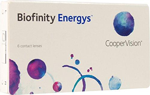 Cooper Vision Biofinity Energys, Monatslinsen weich, 6 Stück / BC 8.6 mm / DIA 14.0 mm / -3 Dioptrien