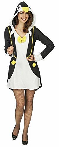 Preisvergleich Produktbild Pinguin Gloria Kostüm für Damen Gr. 36 38 - Süßes Tier Kostüm für Karneval und Mottoparty