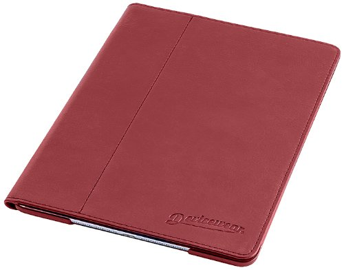 devicewear-slim-ipad-air-case-the-ridge-with-six-position-flip-stand-magnetic-and-on-off-switch-red-