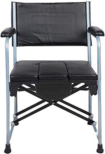 Hngyanp Badestühle Multifunktions-Bad Stuhl, Deluxe Edition Aluminiumlegierung Duschsitz for Senioren, Badehilfe for Behinderte und Behinderte, Bad Bank mit Armlehne und Rückenlehne -