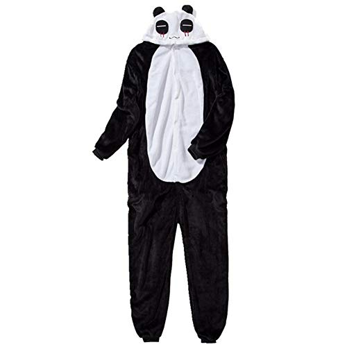 IEUUMLER Unisexe Animal Pyjama Animaux Enfant Combinaison Cosplay Outfit Vêtements de Nuit Déguisements IE062 (Panda, 140# Height:130-140cm)