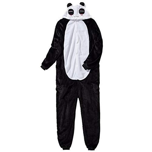 IEUUMLER Unisexe Animal Pyjama Animaux Enfant Combinaison Cosplay Outfit Vêtements de Nuit Déguisements IE062 (Panda, 100# Height:90-100cm)