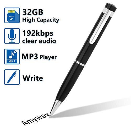 Bolígrafo Grabador de Voz Digital