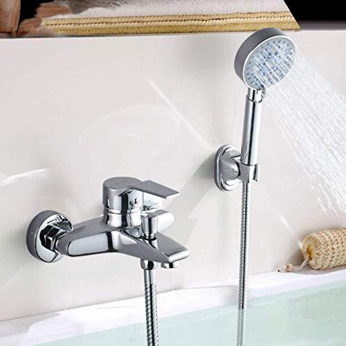 Badewannenarmatur mit Handbrause Duschset WannenArmatur Badewanne Wannenbatterie Brausegarnitur 3 Jahre Garantie