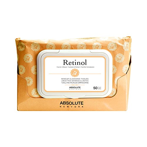 Absolue New York Lingettes – Retinol, pack de 1 (1 x 1 pièce)