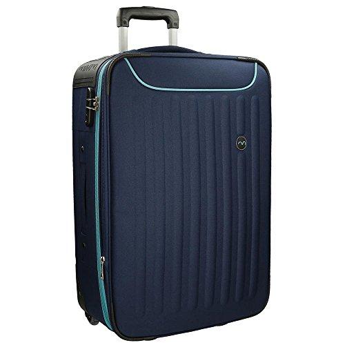 Movom 5349353 Brooklyn Maleta, 76 cm, 80 Litros, Azul