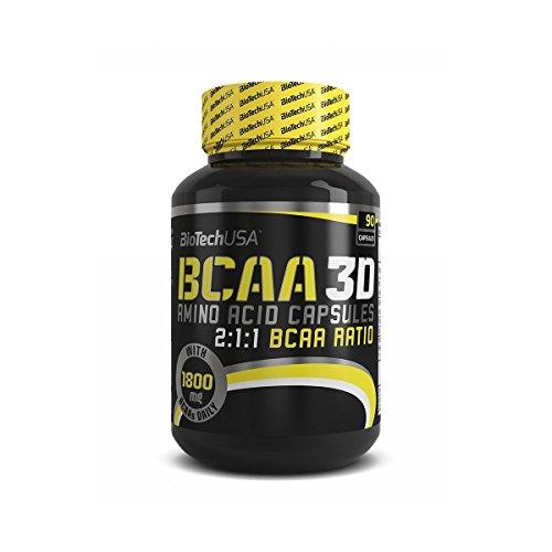 BIOTECH USA - BCAA 3D 90 CPS - 41t6et6QvTL