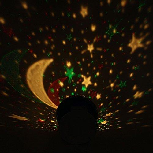 Bedee Lampada Proiettore Magia Di Stelle Luna Creare Cielo Stellato