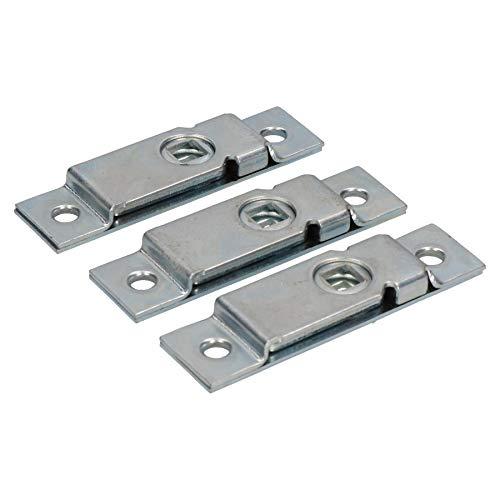 AB Tools 3-türiger Spind Hatch Lock Verriegelung für Anhänger LKW Pferdebox Stahl Zunge -