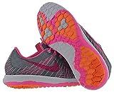 Nike Boy's Flex Fury Element Chaussure de Course à Pied - Gris - Cool Grey/Pink Power-Bright Citrus-White, 6.5 Ans