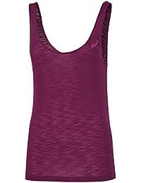 asics Loose - T-shirt course à pied Femme - violet Modèle M 2016 tshirt sport