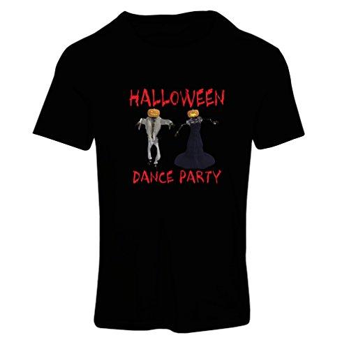 Frauen T-Shirt Coole Outfits Halloween Tanz Party Veranstaltungen Kostümideen (Medium Schwarz (Kostüm Cowgirl Tanz Kind)