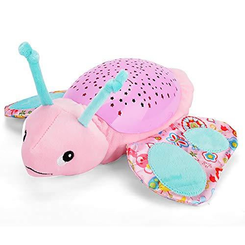 SJZV Baby Plüsch Beschwichtigen Spielzeug Hypnose Projektion Tier Seepferdchen Puppe,Butterfly