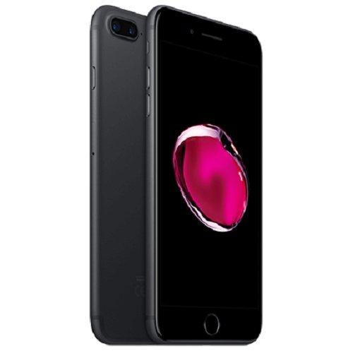 Apple iPhone 7 - Smartphone DE 4,7? con tecnología IPS (Chip A10 Fusión, cámara Dual 12 MP, IP67) Color Negro [Reacondicionado por Apple]