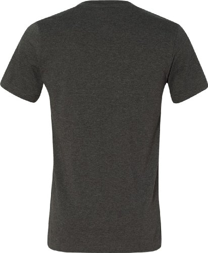 Wei§e Skelett HŠnde auf American Apparel Fine Jersey Shirt DK GREY HEATHER