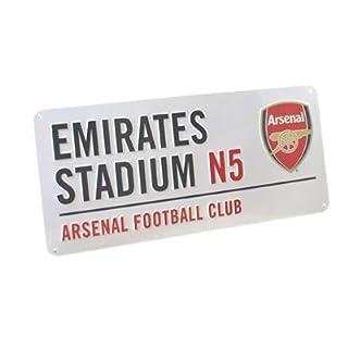 Club Licensed Arsenal Street Sign(40cm x 18cm)
