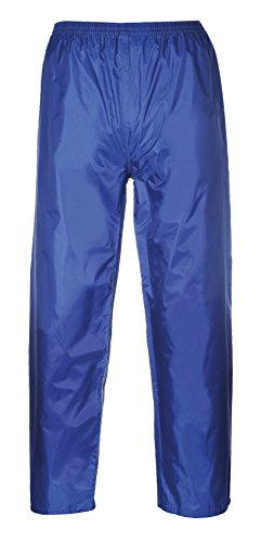 Portwest classico taglio classico Pantaloni Impermeabile per adulti, XX-Large, blu royal