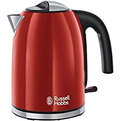 Russell Hobbs 20412-70 Bollitore Colours Plus, 2400 W, Flame Rosso