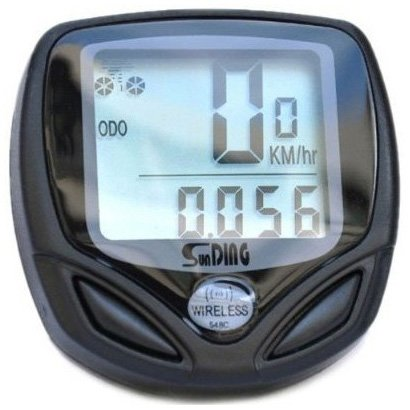 41t6l85NDkL - BEST BUY #1 SODIAL(TM) Wireless Bike Computer Speedo Odometer Average Speed Maximum Speed Cycle Bicycle Reviews and price compare uk