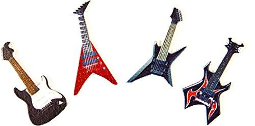 Tüte mit 8Tisch-Konfetti Gitarre Rock