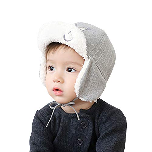 XYX Baby Girl Toddlers Breathable Lacy Bonnet Eyelet Cotton Adjustable Sun Protection Hat