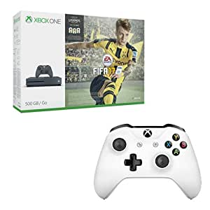 console xbox one s 500 go storm grey fifa 17 seconde. Black Bedroom Furniture Sets. Home Design Ideas