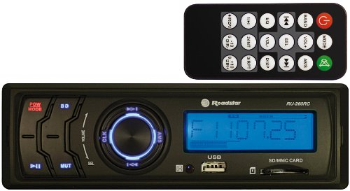 Roadstar RU-260RC - Radio USB para coches (60 W, reproductor de CD/DVD),...