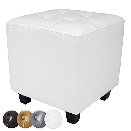 miadomodo-chesterfield-footstool-multi-functional-seating-cube-stool-white