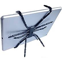 Rejilla flexible de araña universal flexible /montura/soporte/GPS/ventilación/salpicadero/cámara/soporte de coche para teléfono tableta y muelle @KOW