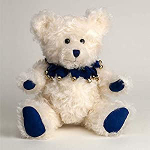 Canterbury Bears ltd 168 - Oso de Mohair de arándano, Color Crema