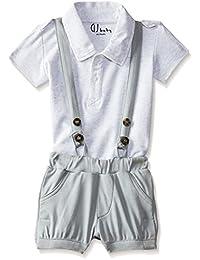 GJ BABY Boys' Regular Fit Bodysuit