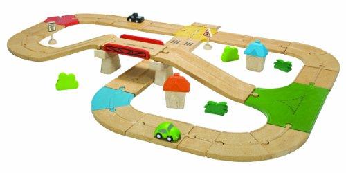 Plantoys - Pt6607 - Véhicule Miniature - Rail - Circuit Routes