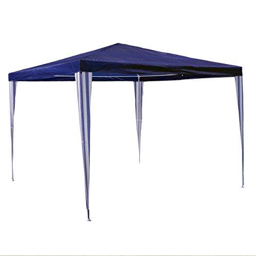 Nexos GM36001 PE-Pavillon Partyzelt für Garten Terrasse Markt Camping Festival als Unterstand und...