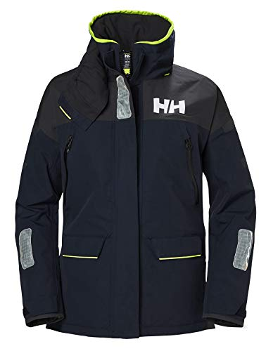 Helly Hansen Damen Skagen Offshore Sailing Yacht Coat Navy - Schnell Dry - Helly Tech Performance Offshore Hose