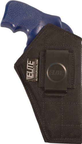 Elite Survival Systems IWB Holster for S&w, Colt, Ruger 38/357 Small Frame Revolvers 3 by Elite Survival Systems (Ruger-revolver-holster)