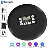 CCHKFEI Portable Bluetooth CD Player with LED Display, Personal CD Music Disc Players