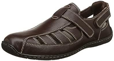 Hush Puppies Men's Immanuel Leather Sandals