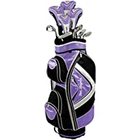 Ben Sayers Women's M15 Right Hand Regular Cart Bag - Purple