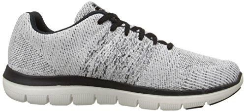 Homens Flex 180 52 Treinamento Vantagem Skechers Branco 0 Sapatos 2 O0c54