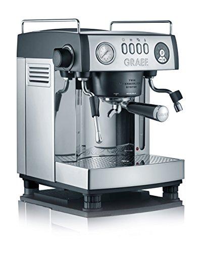 Graef ES902EU Siebträger-Espressomaschine'baronessa', 2515 W, 16 Bar, schwarz-matt/edelstahl