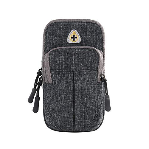 CoURTerzsl Sporttasche/Handtasche mit Kopfhörerloch, grau